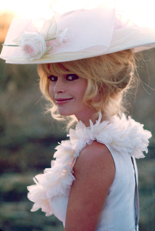 Brigitte Bardot on the Set of Viva Maria (I), Mexico, 1965