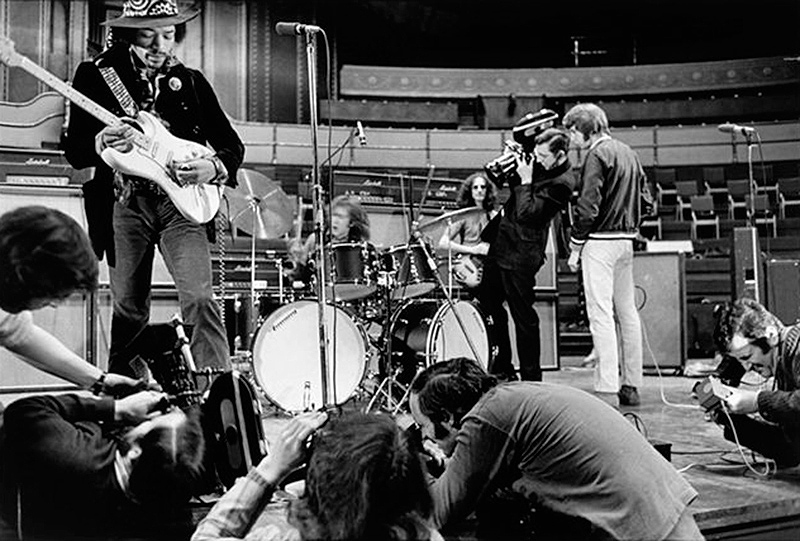 Jimi Hendrix Soundcheck, Royal Albert Hall, London, 1969