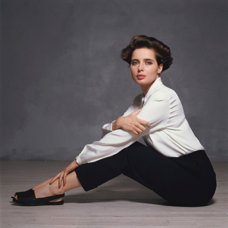Isabella Rossellini, London (Color), 1988