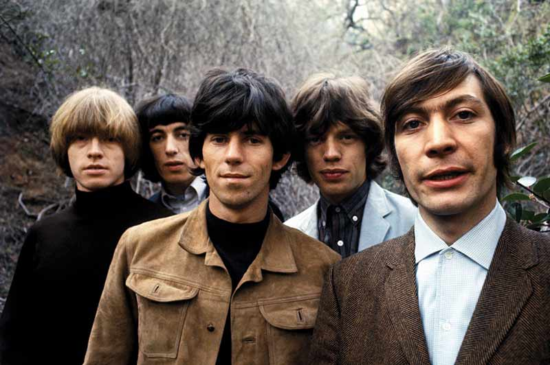 The Rolling Stones Group Portrait, Franklin Canyon, CA, 1965