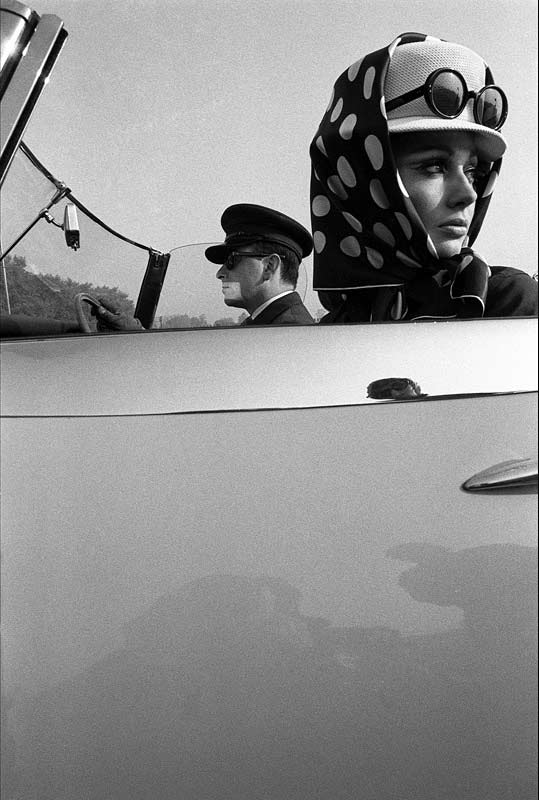 Girl with Chauffeur, Town Magazine, 1965