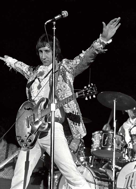 Pete Townshend Onstage (Arms Outstretched), Cow Palace, SF, 1967