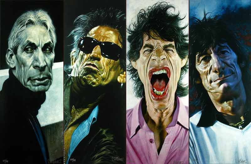 The Rolling Stones - 40 x 40 Suite, 2006