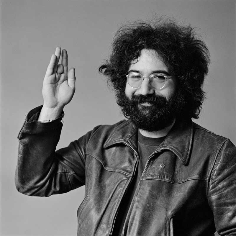Jerry Garcia Portrait, San Francisco, 1969