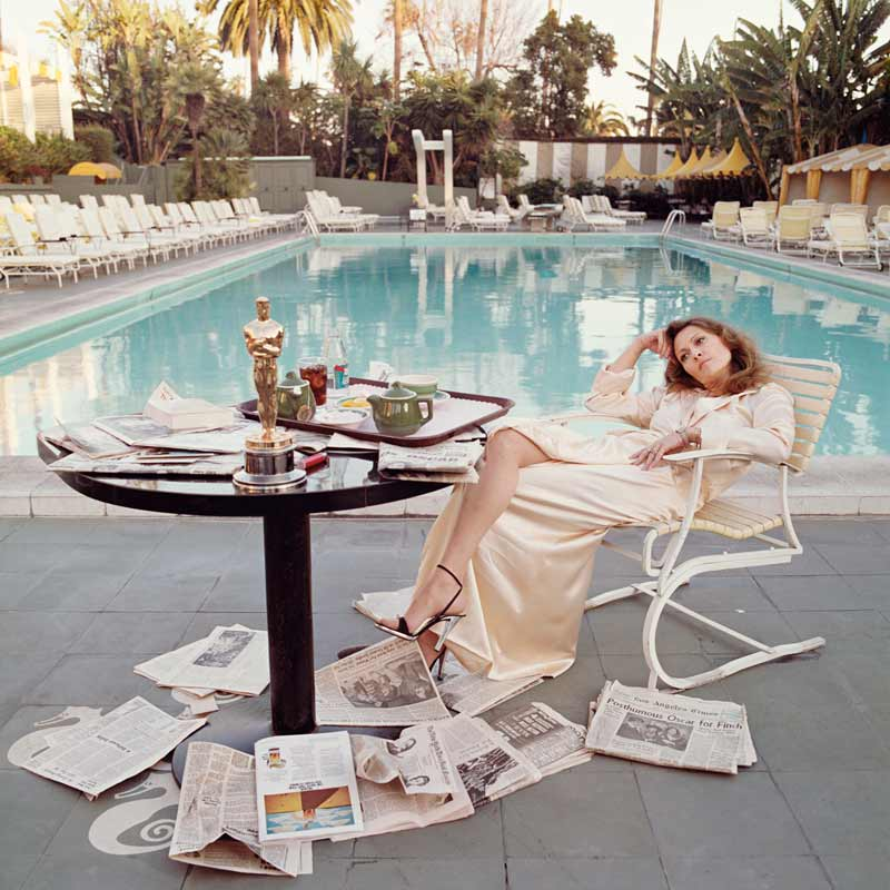 Faye Dunaway - Oscar Ennui, Los Angeles, 1976 (Color)