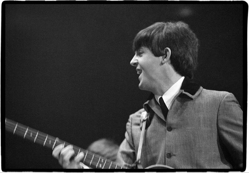 Paul McCartney Performing at the Coliseum, Washington DC, 1964
