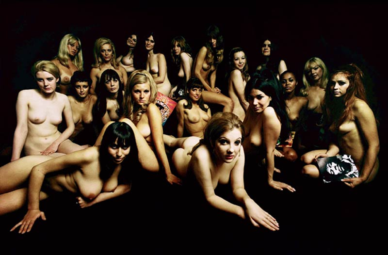 Jimi Hendrix, Electric Ladyland Nudes (European Album Cover), London, 1967
