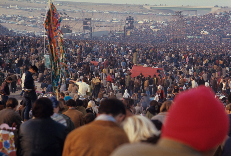 The Altamont Free Festival, 1969