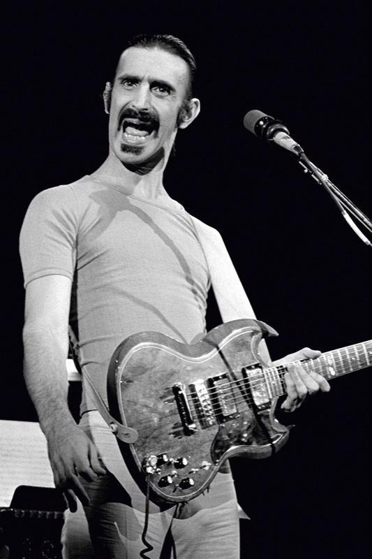 Frank Zappa Onstage, NYC, 1976