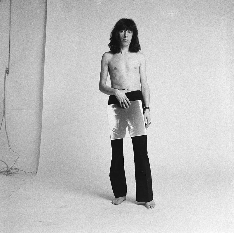 Bill Wyman, Sticky Fingers Promo Shoot, London, 1971