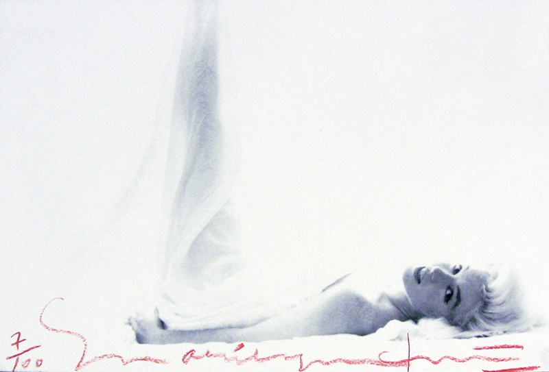 Marilyn Monroe, Lying on Bed, From The Last Sitting, 1962