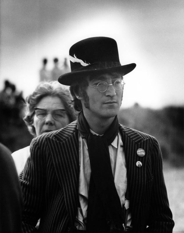 John Lennon in Hat, Magical Mystery Tour, 1967