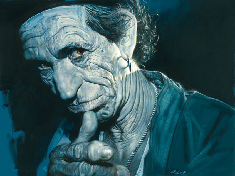 Keith Richards Pointing, 2006