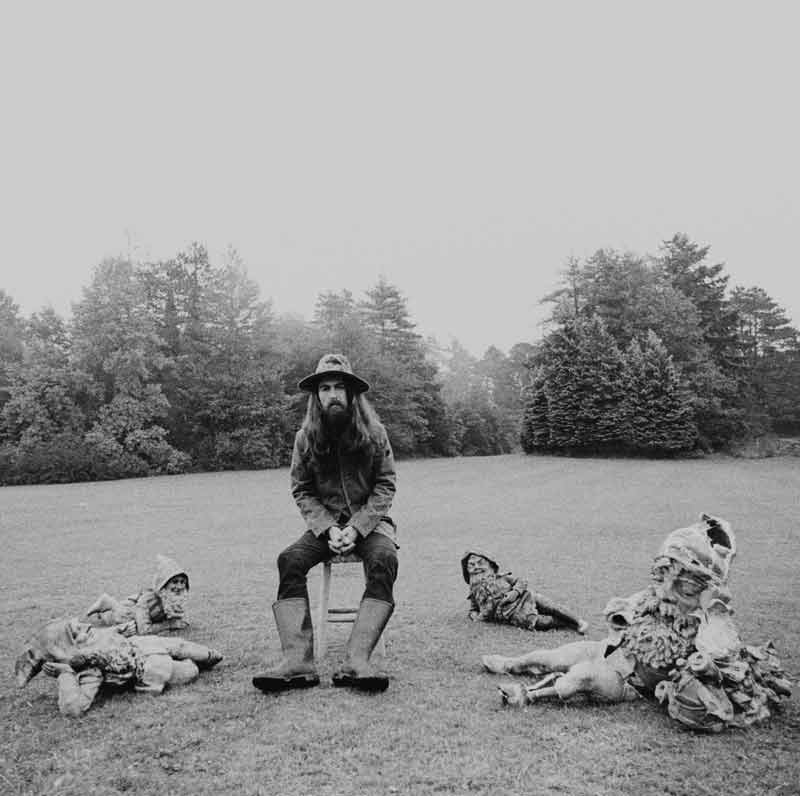 George Harrison, All Things Must Pass Album Cover, Friar Park, 1970