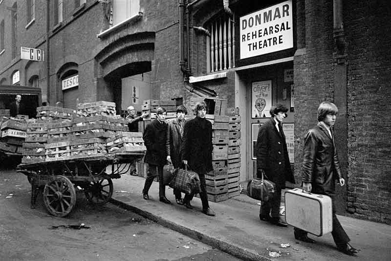 The Rolling Stones Outside Donmar Rehearsal Theatre, 1964