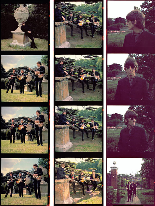 The Beatles, Chiswick Park Contact Sheet, London, 1966