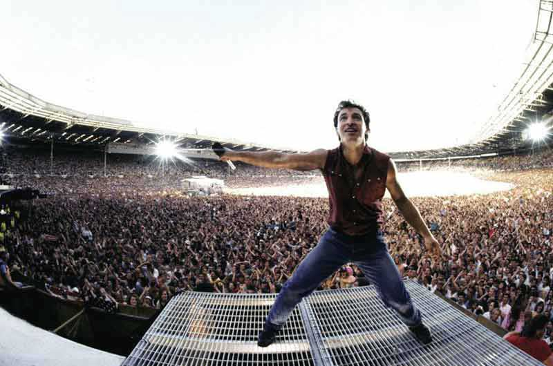 Bruce Springsteen, Wembley Stadium, 1985