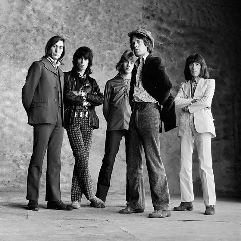The Rolling Stones, Sticky Fingers - Cool Stones, London, 1971