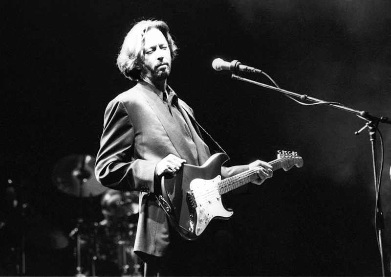 Eric Clapton Onstage, 1991