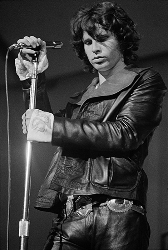 Jim Morrison at London's Roundhouse, 1968 (I)
