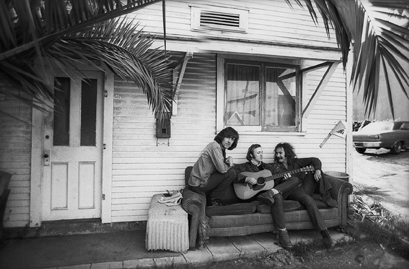 Crosby, Stills & Nash, Front Porch, 1969