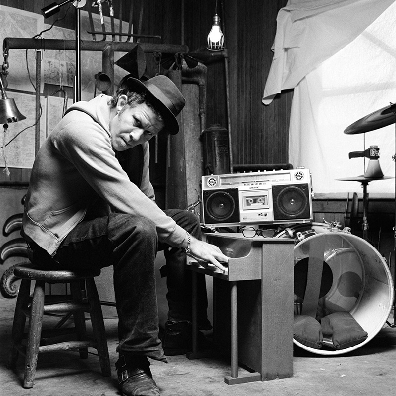 Tom Waits on Miniature Piano, Prairie Sun Recording Studio, CA, 1992