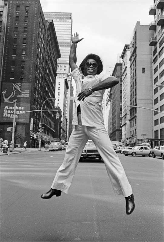 James Brown, Broadway, NYC, 1979