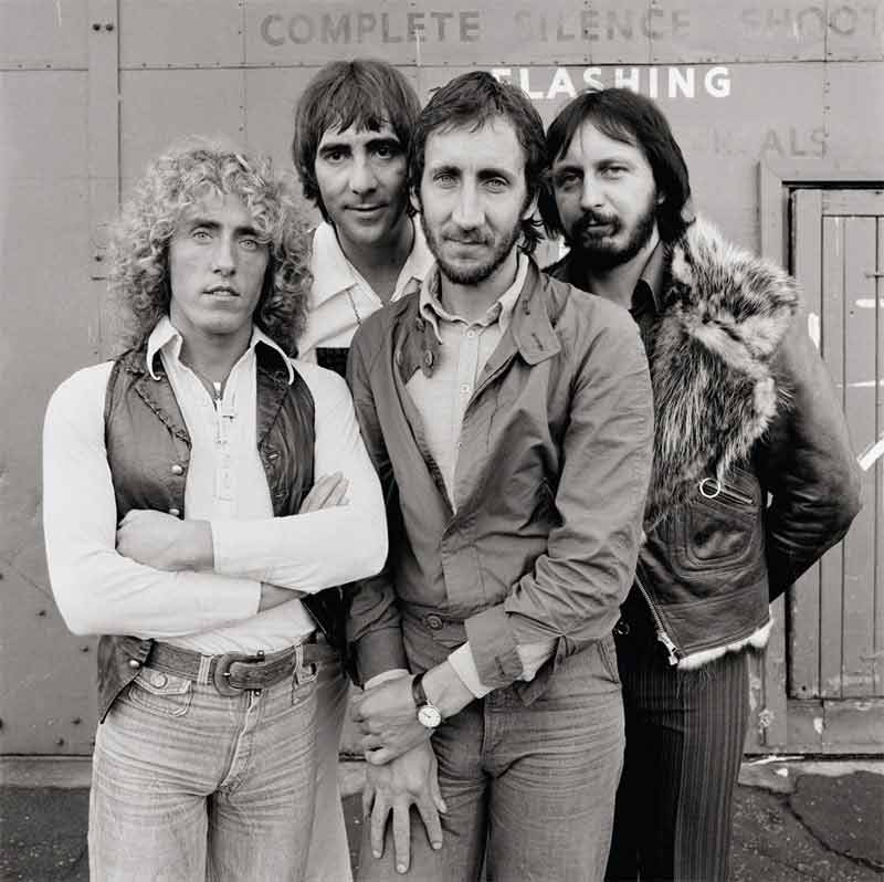 The Who, Group Portrait, Shepperton Studios, 1978