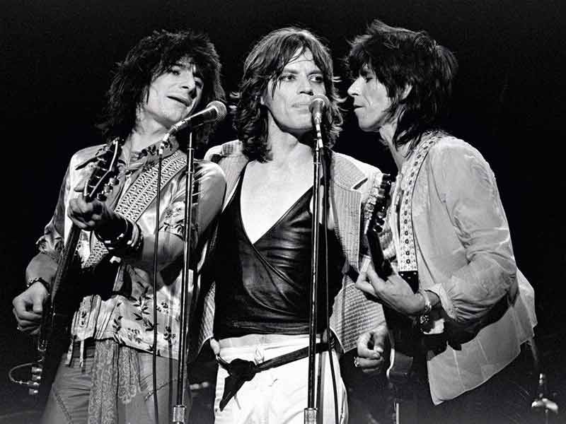 The Rolling Stones Onstage, Madison Square Garden, 1975