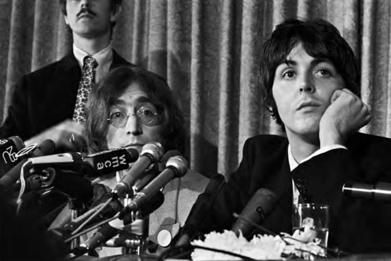 The Beatles Press Conference, Announcing Formation of Apple Records, NYC, 1968