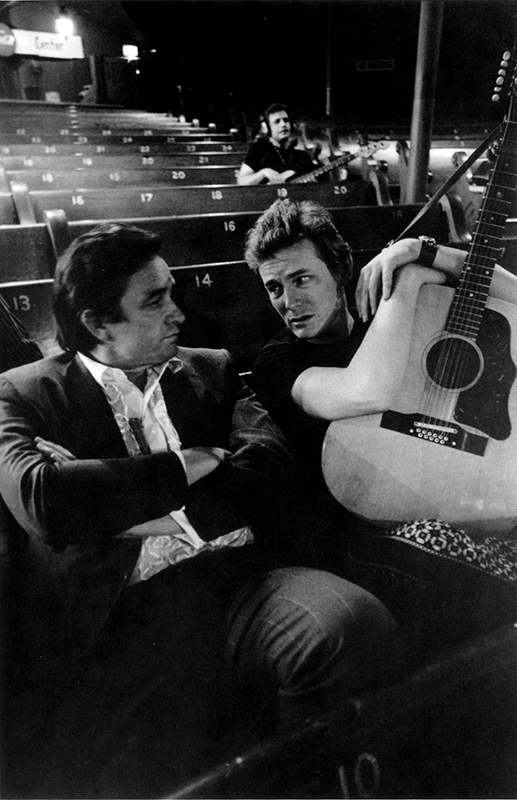 Johnny Cash and Gordon Lightfoot, 1969
