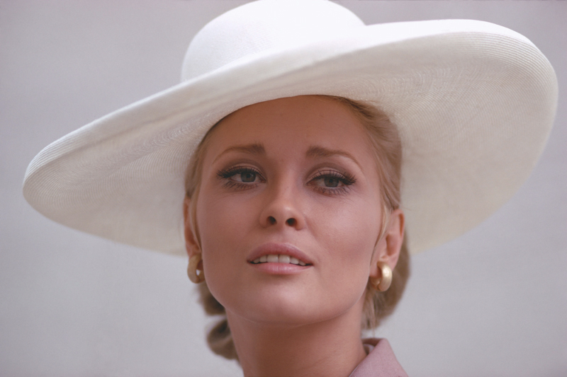 Faye Dunaway Portrait (Close Up), The Thomas Crown Affair, 1968