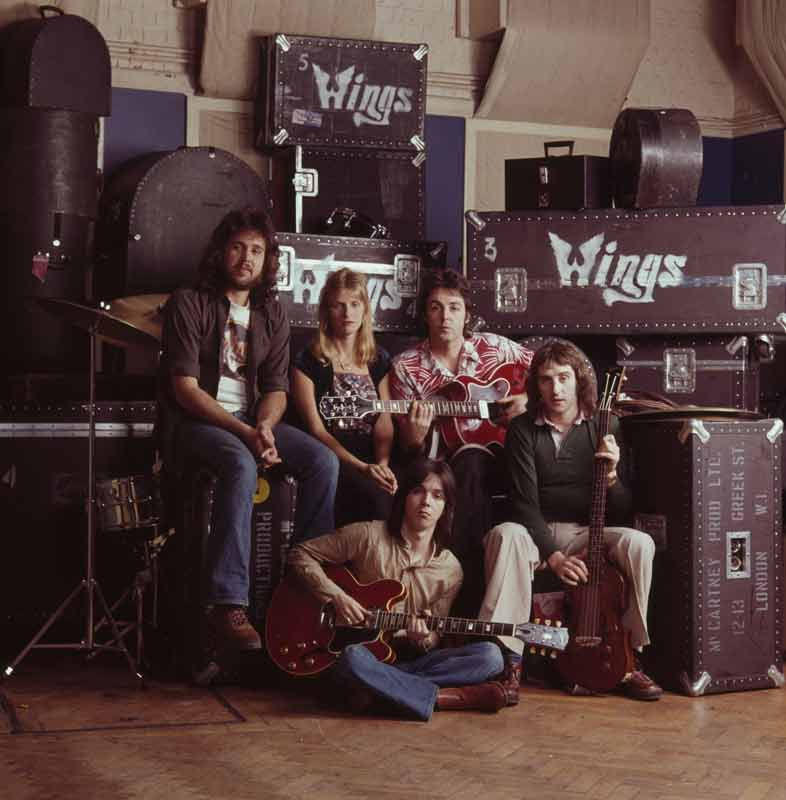 Wings Band Portrait, 1976
