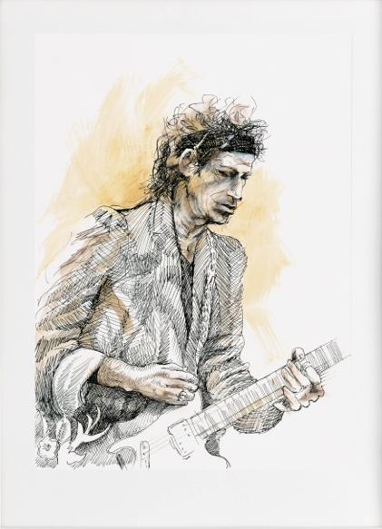 Live Studies - Keith Richards, 2012