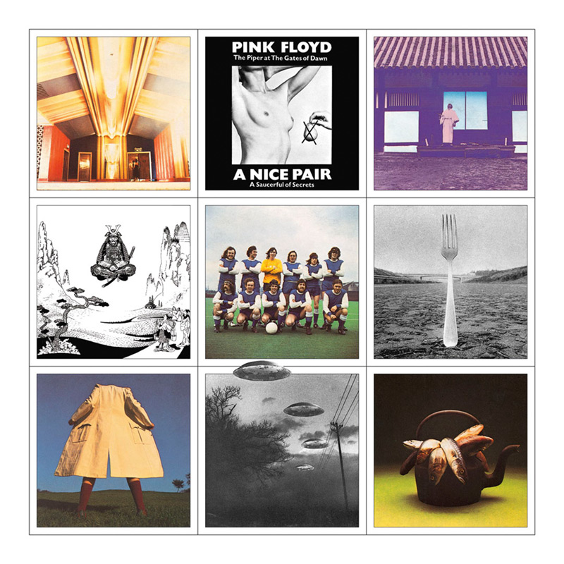 Pink Floyd, A Nice Pair Album Cover, 1973
