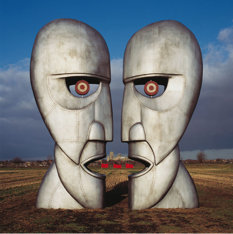 Pink Floyd, The Division Bell - Metal Heads (Flags) Album Cover Outtake, 1994