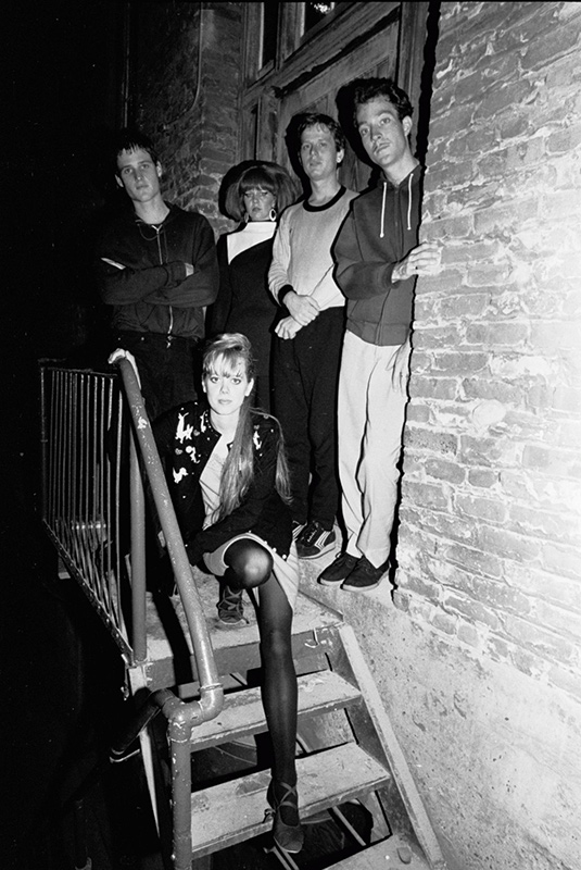 The B-52s at the Stage Door, The Boarding House, SF, 1979