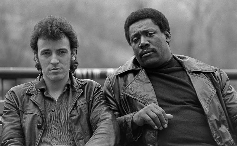 Bruce Springsteen & Clarence Clemons, Central Park, NYC, 1979
