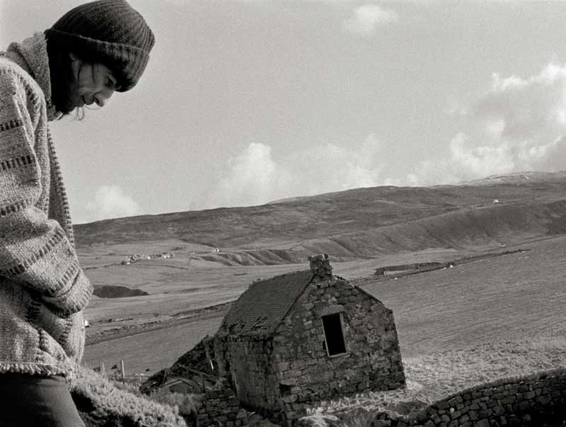 George Harrison on the Isle of Skye, 1971