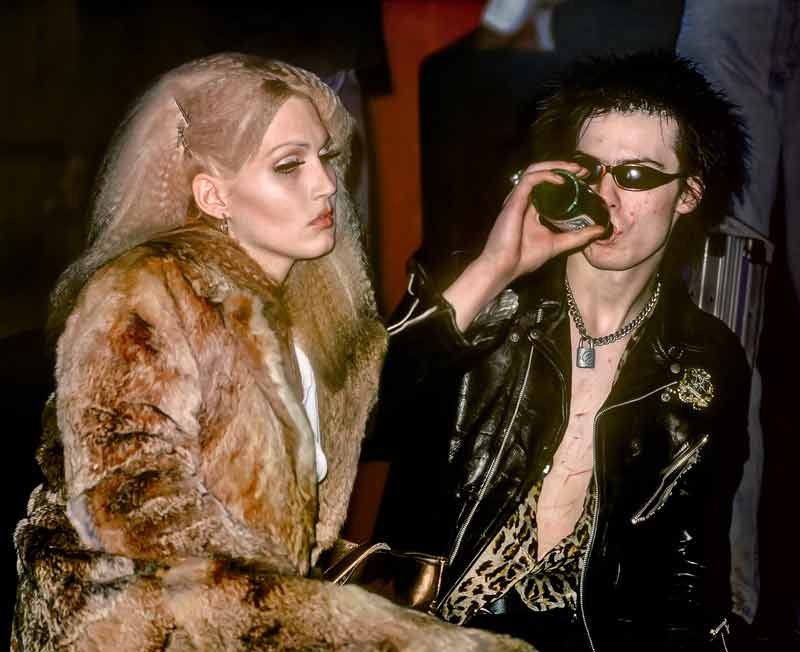 Sid Vicious and Nancy Spungen, NYC