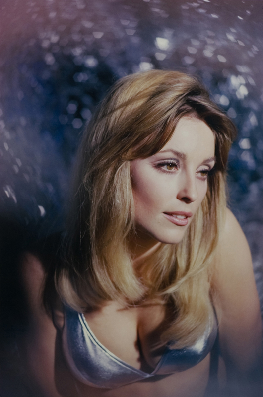 Sharon Tate, Blue Dreamy Portrait, 1965