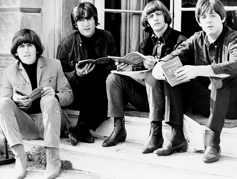 The Beatles Making Help!, Cliveden House, Berkshire, 1965