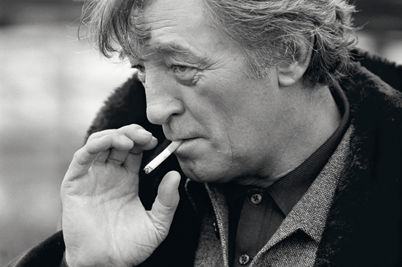 Robert Mitchum Smoking, Holland, 1977