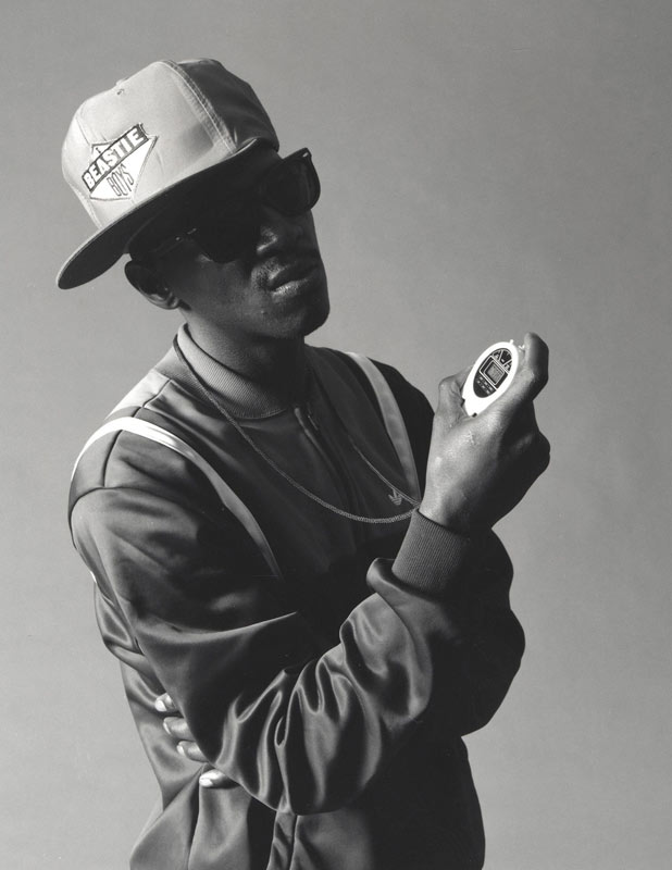 Public Enemy - Flavor Flav, NYC, 1987