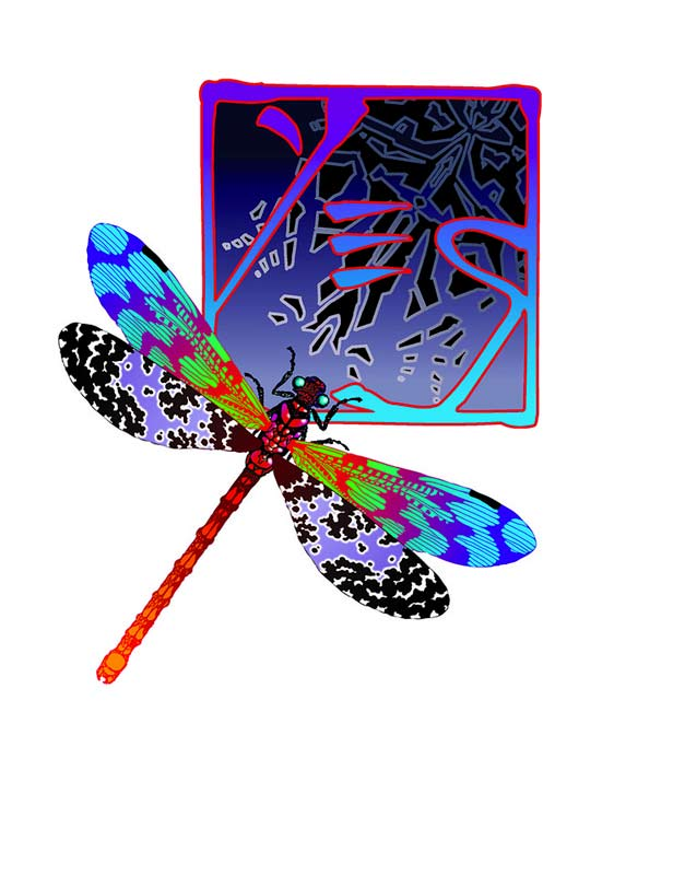 Yes Dragonfly Chop Logo IV, 2001