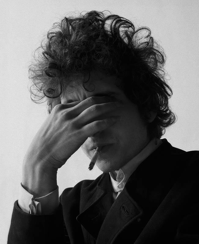 Bob Dylan Portrait, Smoke, NYC, 1965