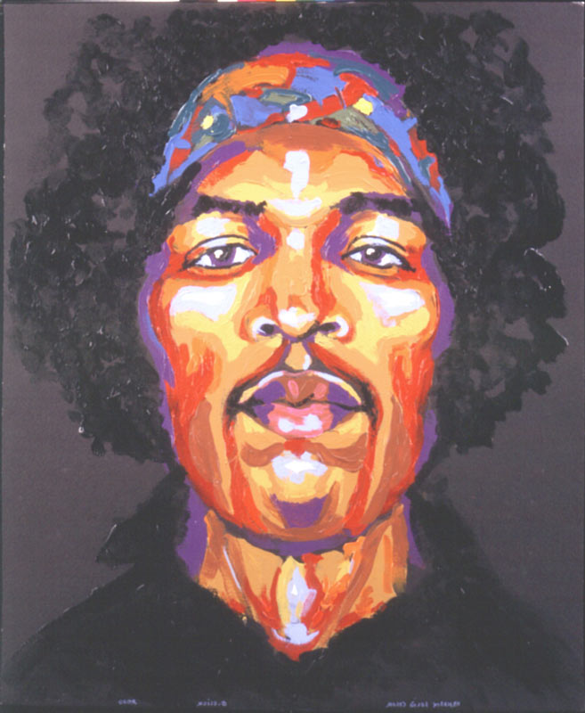 Solid Color - Jimi Hendrix, 2007