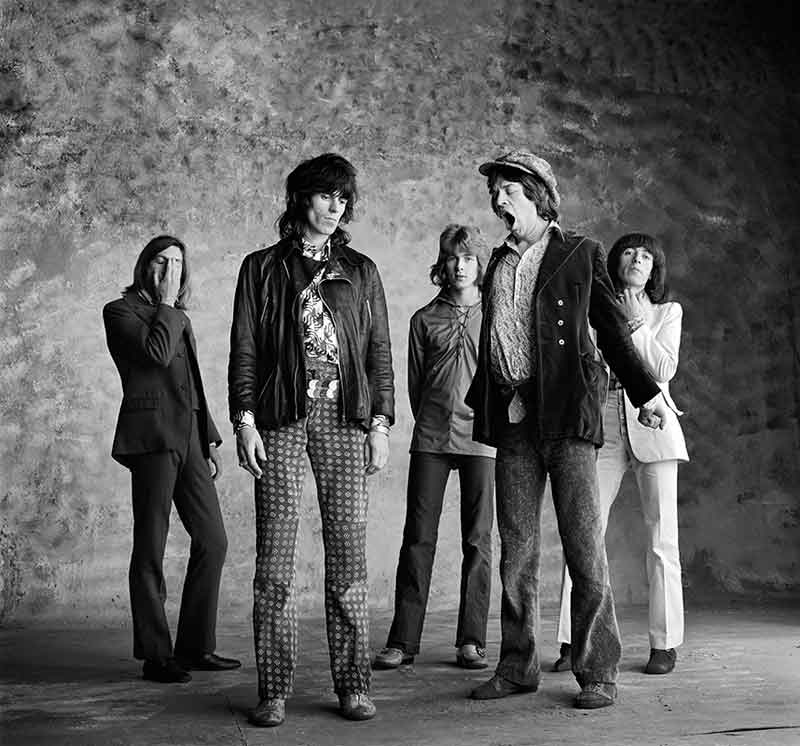 The Rolling Stones, Sticky Fingers - Big Yawn Revisited, London, 1971
