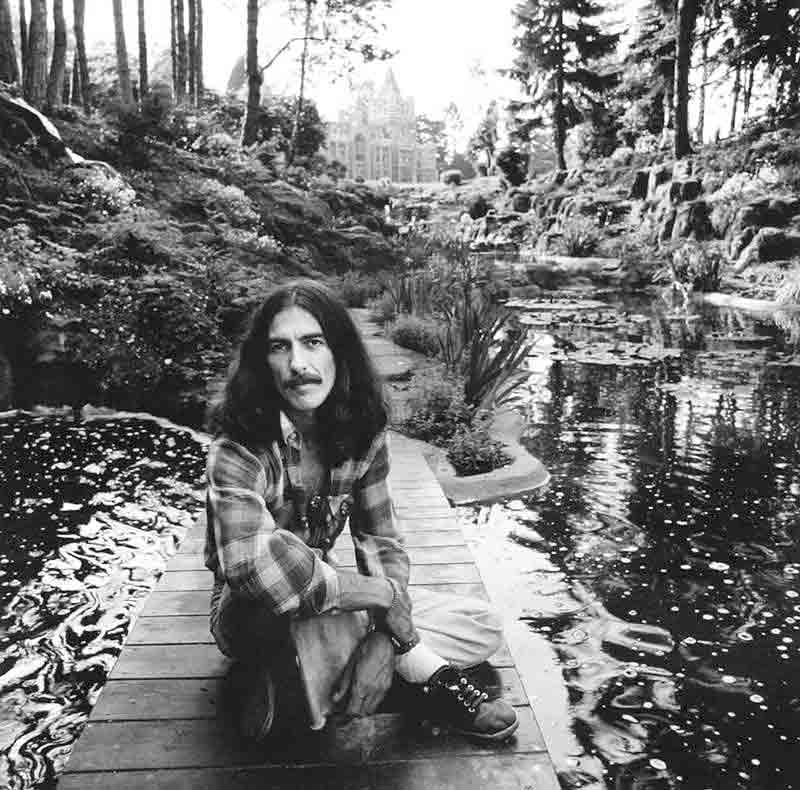 George Harrison, Friar Park, Oxfordshire, 1975