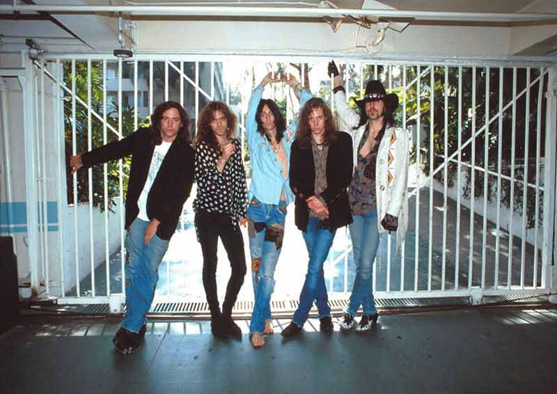 The Black Crowes, 1991